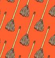 Sketch mop in vintage style vector image vector image