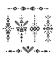 Tribal Hand Drawn elements vector image vector image