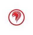 viper snake logo design element danger snake icon vector image