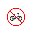bicycle transport icon bike public transportation vector image vector image