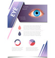 brochure design page template technology vector image