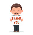 movember thank you moustache november support vector image vector image