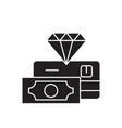 premium service black concept icon premium vector image vector image