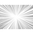 radial lines comics books flash ray blast glow vector image vector image
