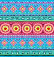 indian trucks art seamless pattern pakistani vector image vector image