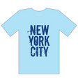 new york city stylish apparel trendy design vector image vector image