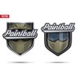 Premium symbols of Paintball Tag vector image