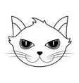 cat house pet icon image vector image vector image