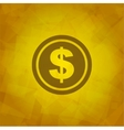 Dollar Icon vector image vector image
