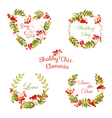 Floral Tags Labels and Banners - for T-shirt