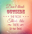 grunge quote background 2904 vector image