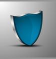 the 3d heraldic shields vector image vector image