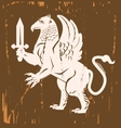 Griffin Medieval vector image