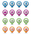 icons 3D vector image