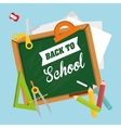 Back to school graphic vector image vector image