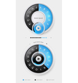 Elements of infographics with buttons and menus vector | Price: 1 Credit (USD $1)