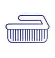 laundry brush cleaner domestic equipment isolated vector image