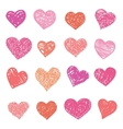 Love Heart isolated vector image vector image