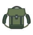 rucksack with adjustable straps adventure time vector image