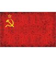 Flag of the Soviet Union vector image vector image