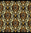 gold abstract textured seamless pattern vector image