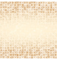Luxury golden geometrical background vector image