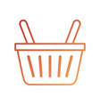 online shopping basket ecommerce market icon vector image