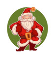 santa claus s for your greeting vector image vector image