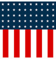 usa flag american flag background white stars on vector image
