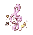 A musical symbol vector image vector image