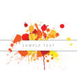 abstract spots vector image vector image