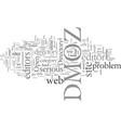 dmoz rotten to the core vector image vector image
