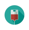 Donate blood icon vector image