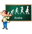 Monkey Presenter vector image