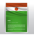 niger flags design vector image