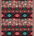 Seamless geometric pattern ethnic aztec tropical