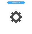Settings icon flat cogwheel icon
