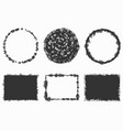 random grunge stamps vector image
