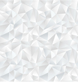 Abstract white geometric seamless pattern vector image vector image