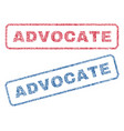 advocate textile stamps