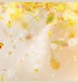 autumn season blurred leaves eps 10 vector image vector image