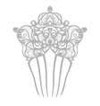 beautiful comb vector image