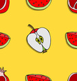 Fruit Patterned Background vector image vector image