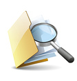 Search file vector image vector image