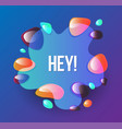 set abstract modern graphic elements dynamic vector image vector image