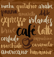 Set of coffee labels vector image
