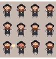 Set of Jews2 vector image vector image