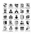 shopping icons set 8 vector image vector image