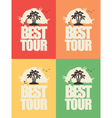 tour best 02 vector image vector image