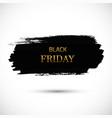 black-friday-gold vector image